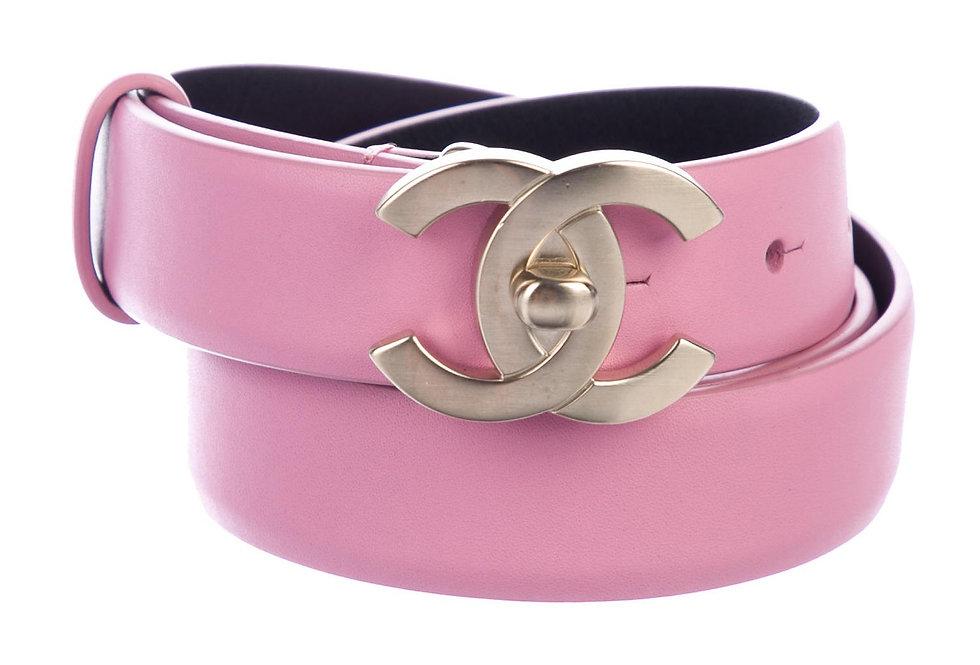 Chanel 2018 CC Turn-Lock Belt