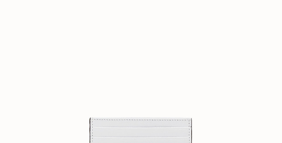 Fendi Leather flat card holder