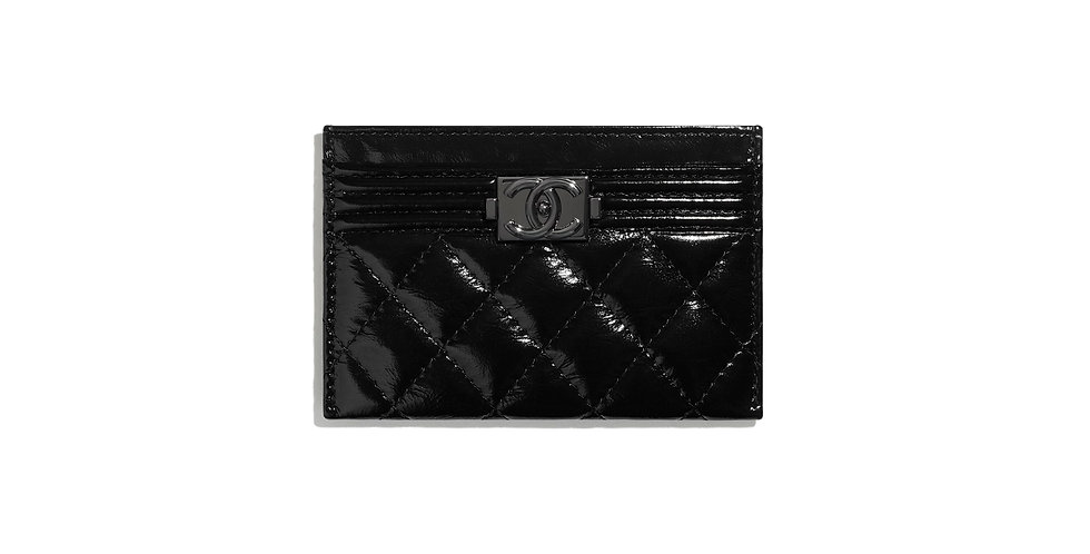 Chanel Boy Card Holder