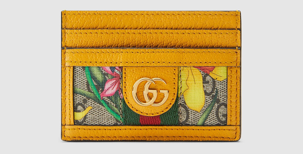 Gucci Ophidia GG Flora card case