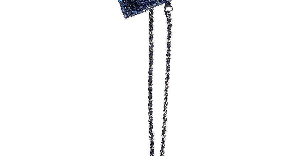 Chanel Mini Flap Bag Crystals