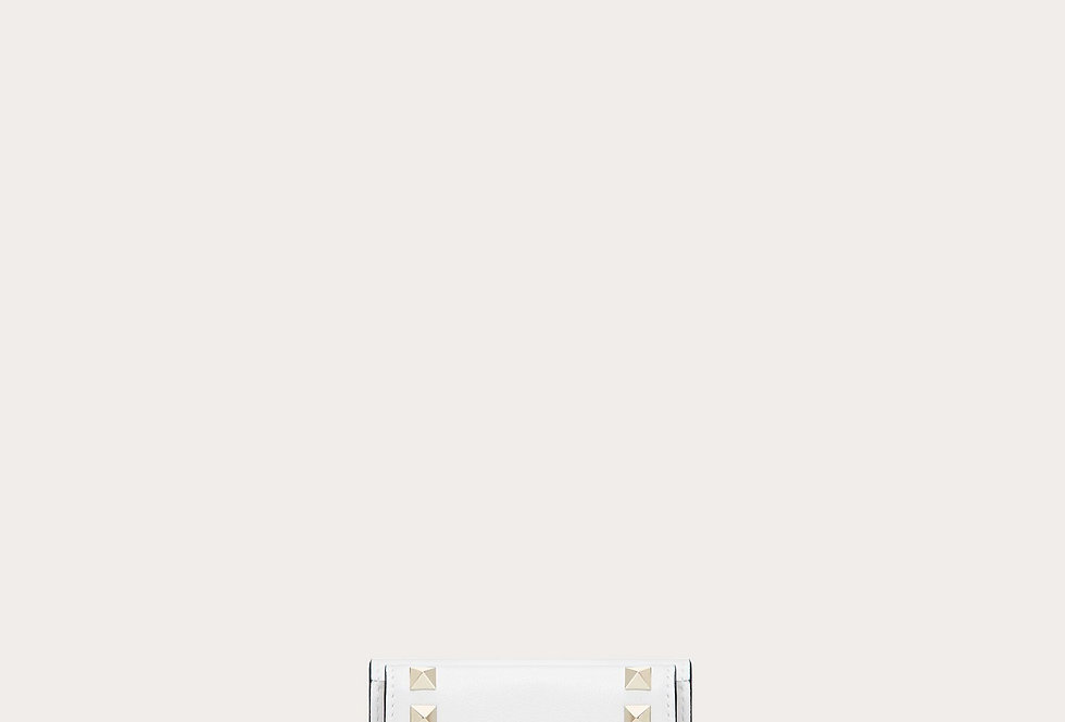Valentino small Rockstud wallet in calfskin leather