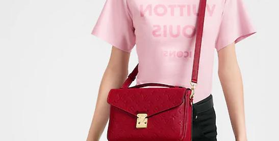 Lois Vuitton Pochette Métis Monogram Empreinte Leather