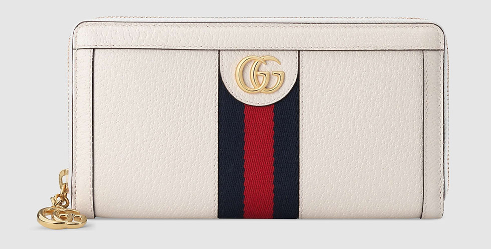 Gucci Ophidia zip-around leather wallet