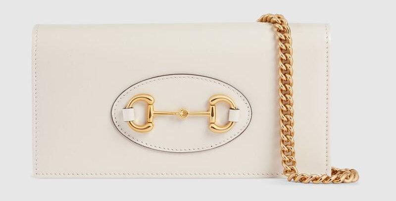 Gucci Horsebit 1955 Leather Wallet on Chain