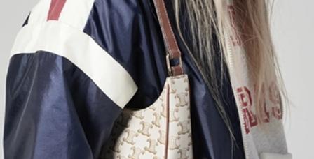 Céline Ava Bag in TRIOMPHE Canvas