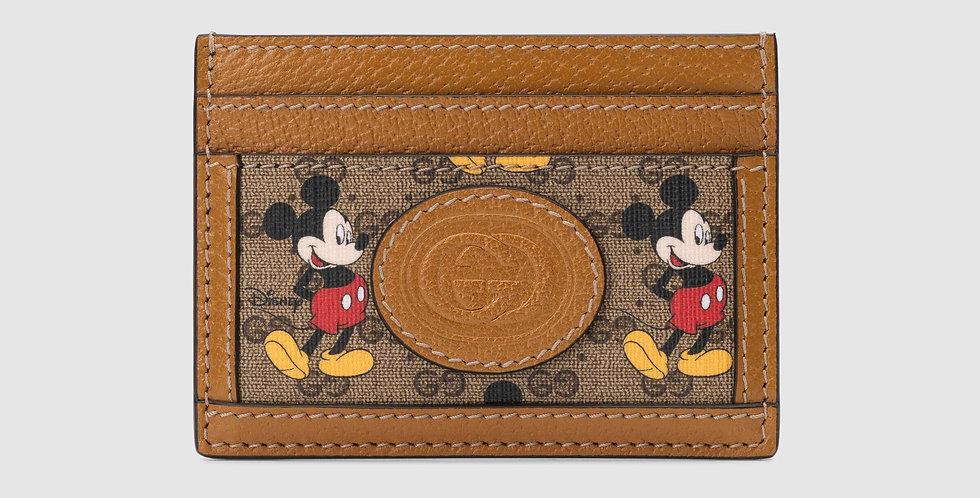 Disney x Gucci card case