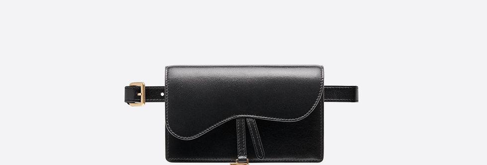 Dior Saddle belt clutch in calfskin