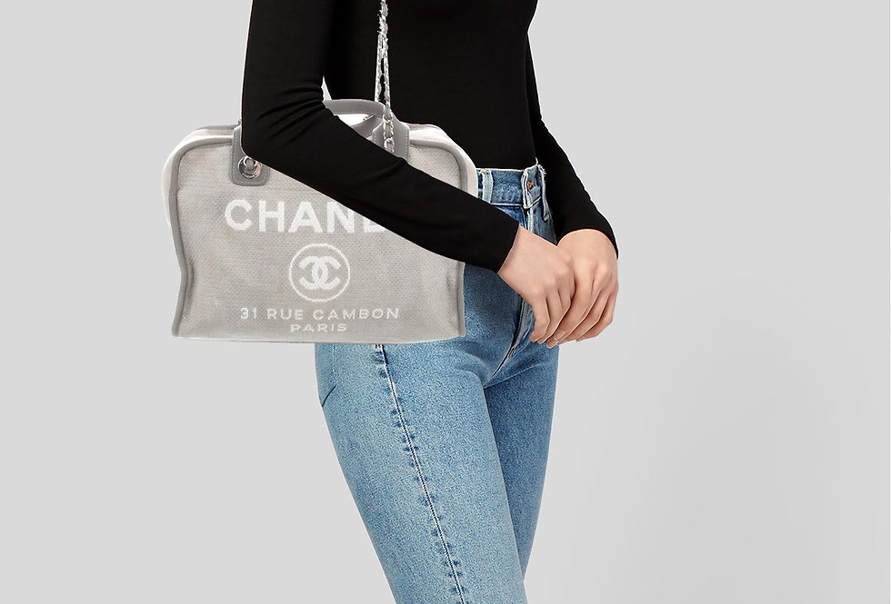 Chanel Deauville Bowling Bag