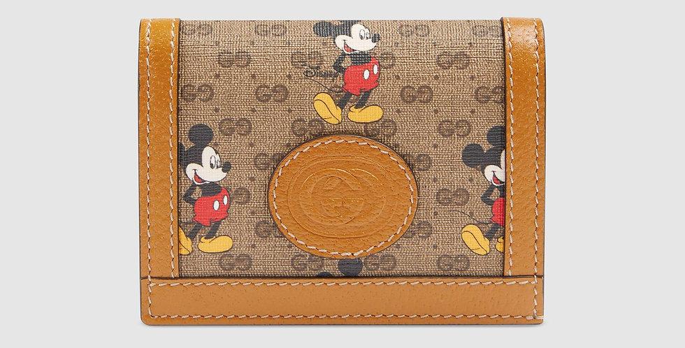 Disney x Gucci card case wallet