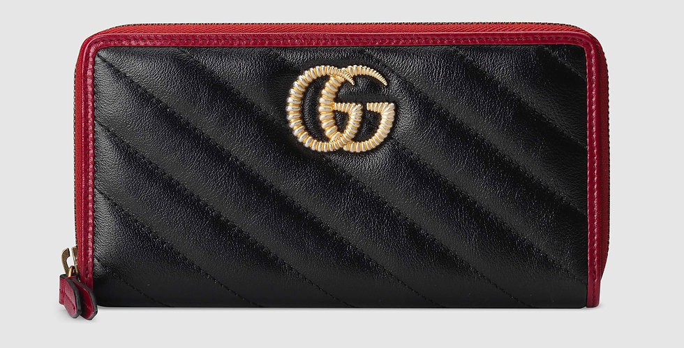 Gucci GG Marmont zip-around wallet