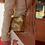 Thumbnail: Chanel Gabrielle Small Hobo Bag Aged Gold