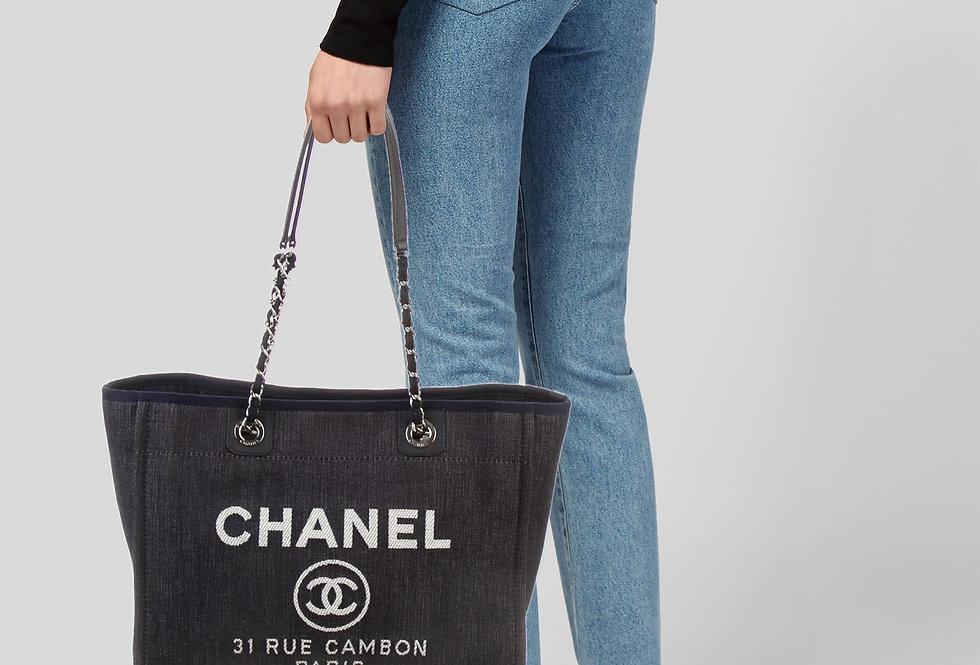 Chanel Small Deauville Shopper