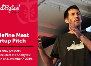 Redefine Meat Takes Top Prize at FoodBytes!