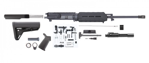 Ar15 16 Rifle Build Kit W Magpul Furniture 7 Moe Handguard Carbine Length