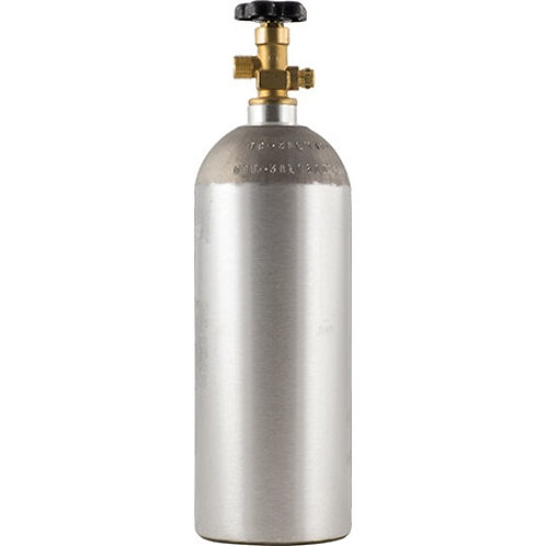 Aluminum Compressed Gas Cylinder Small