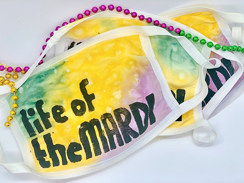 Mardi Gras Face Mask