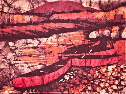 Art Print - Sunset on the Santa Elena Canyon