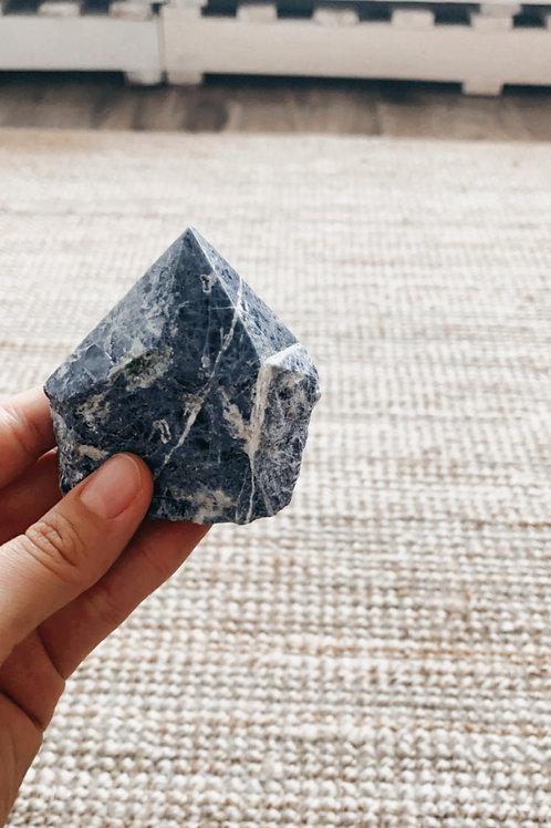 Lapis lazuli top poli