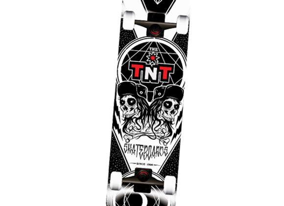 Patineta TNT Black Skull