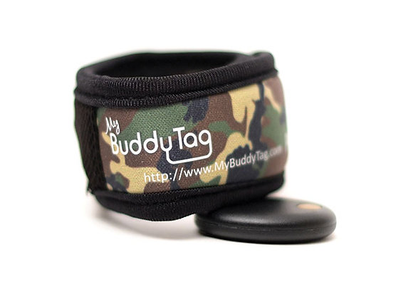 My Buddy Tag Velcro Camouflage Verde