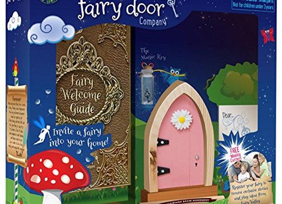 Pink Arched Door