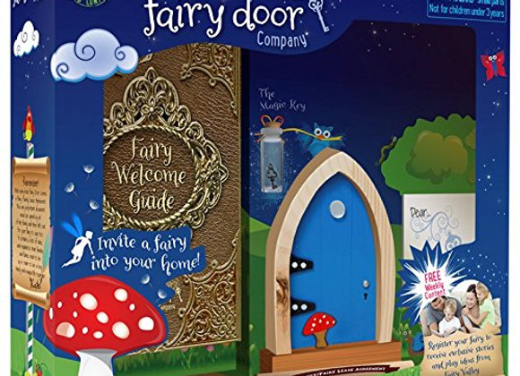 Blue Arched Door