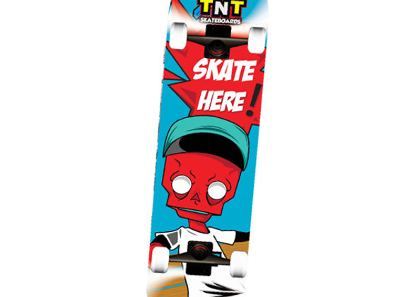 Patineta TNT Skull Boy