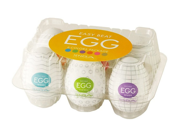 Easy Beat Egg Six Color  Six Pack