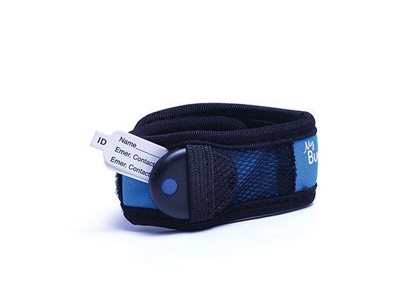 My Buddy Tag Velcro Azul