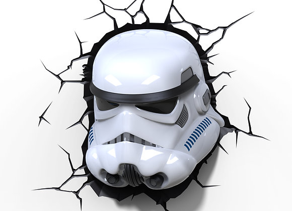 Lámpara de pared 3D Star Wars / Stormtrooper