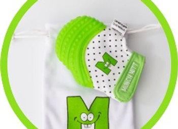 Munch Mitt Verde     Guante mordedera para Bebe