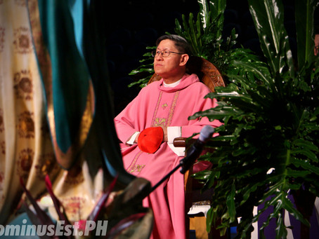 Cardinal Tagle: I Will Now Be An OFW