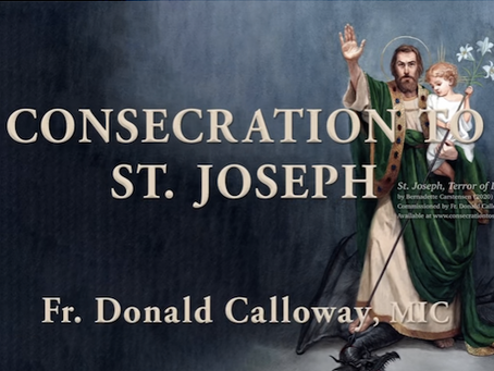 Fr Calloway's 33 Days Consecration to St Joseph | Video Guide