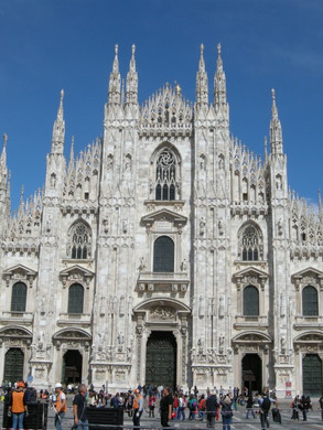 23. You can find a beautiful shrine devoted to St. Charles at the Milan Cathedral