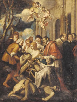 18. He stayed in Milan in spite of a plague to help victims