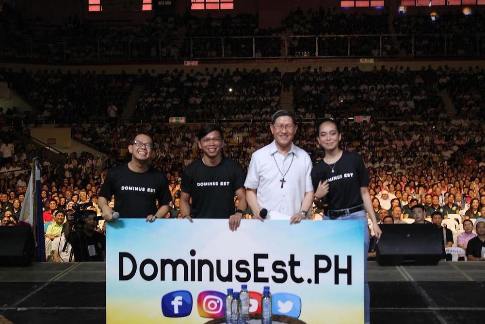 Dominus Est is launched by Cardinal Tagle at Pista ng Misyon. Photo: JP Gonzalo / Dominus Est.