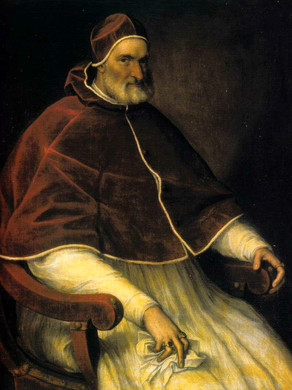 5. He is the nephew of Pope Pius IV