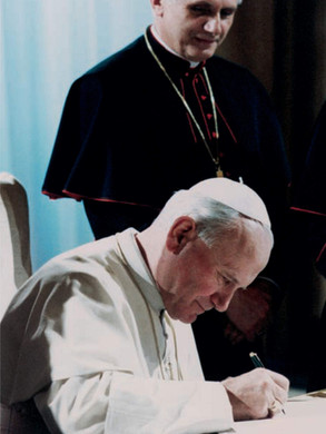 12. He knew the names of all 2,000+ bishops of the world by heart.