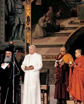 19. He built bridges between religions.