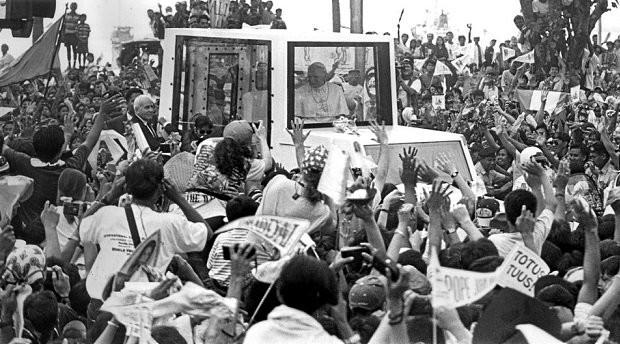 Dominus Est, Pope John Paul II, World Youth Day, Philippines, Catholic