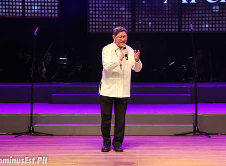 Tears flowed as Cardinal Tagle gave his final bow at this year's Patron of the Arts