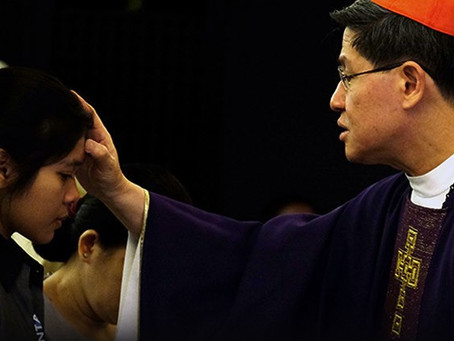 "CARDINAL TAGLE: ""THE WHOLE PANDEMIC HAS TAUGHT US: WE ARE DUST."""