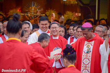 Cardinal Tagle is the New Prefect of the Congregation for the Evangelization of Peoples