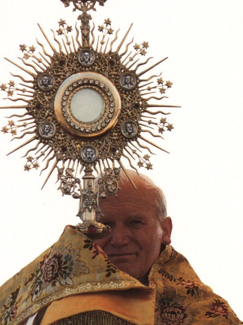 11. He had fascinating attraction to the Blessed Sacrament