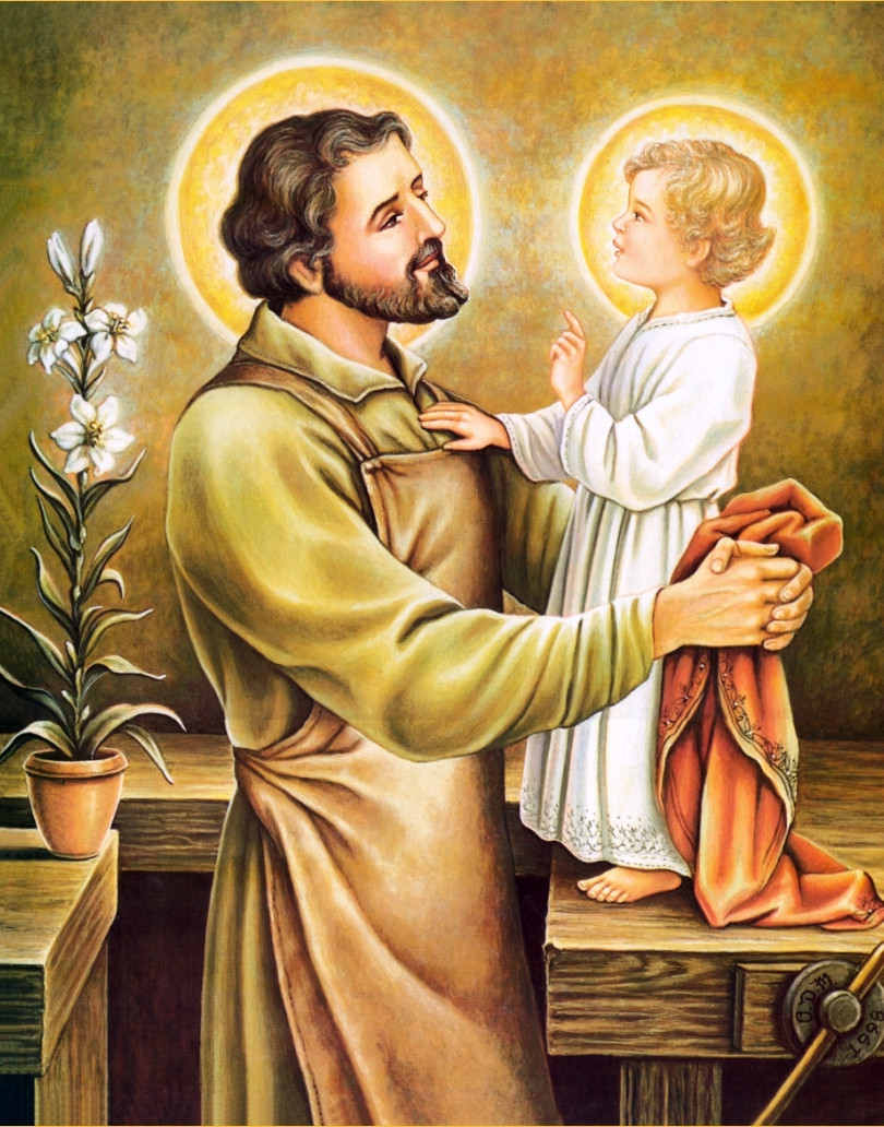 He treated Jesus as his own son.