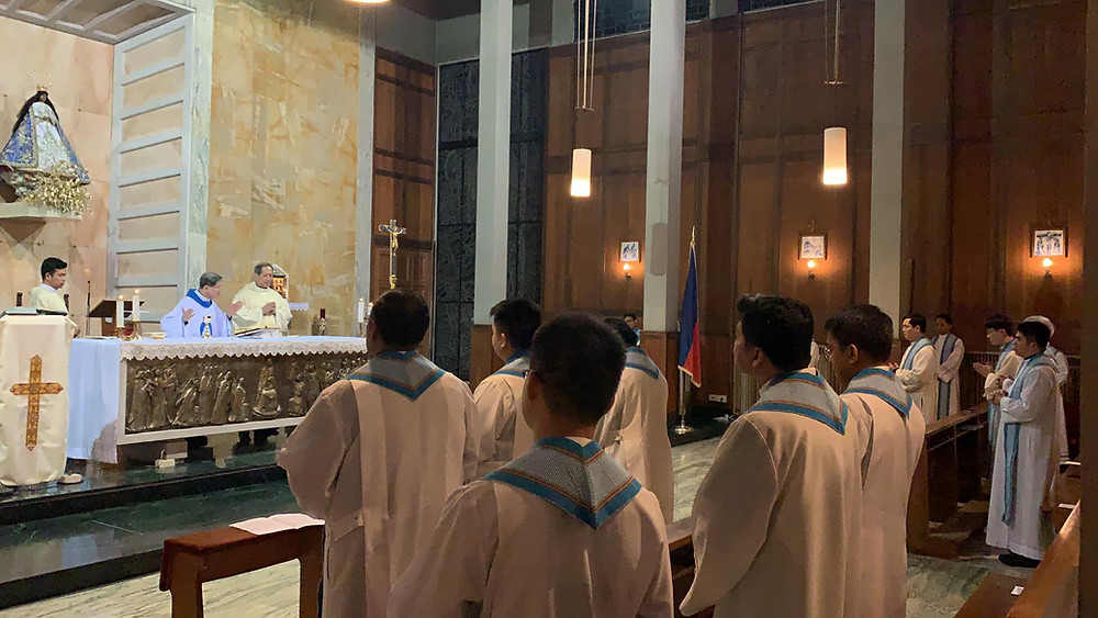 Cardinal Tagle's First Mass as Prefect of Propaganda Fide