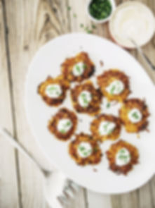 Root Vegetable Latkes|Pecan-Date Chutney|everydayhappyfoods\#everydayhappyfoods