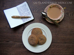 Fiona's Ginger Nut Biscuits