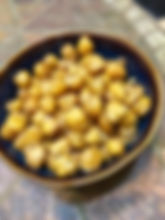 Roasted Crispy Chick peas